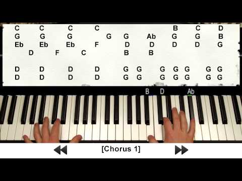 How To Play Skyfall By Adele On Piano (007 Tutorial W/ Note Letters + Sheets)