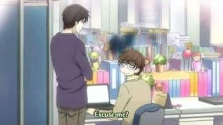 Sekai Ichi Hatsukoi funny scene (Season 2 Ep 11)♂x♂
