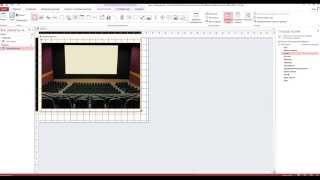 Створення бази даних кінотеатру в Access 2013