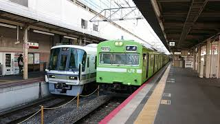 103系(奈良線普通列車4B)631M  京都駅発車