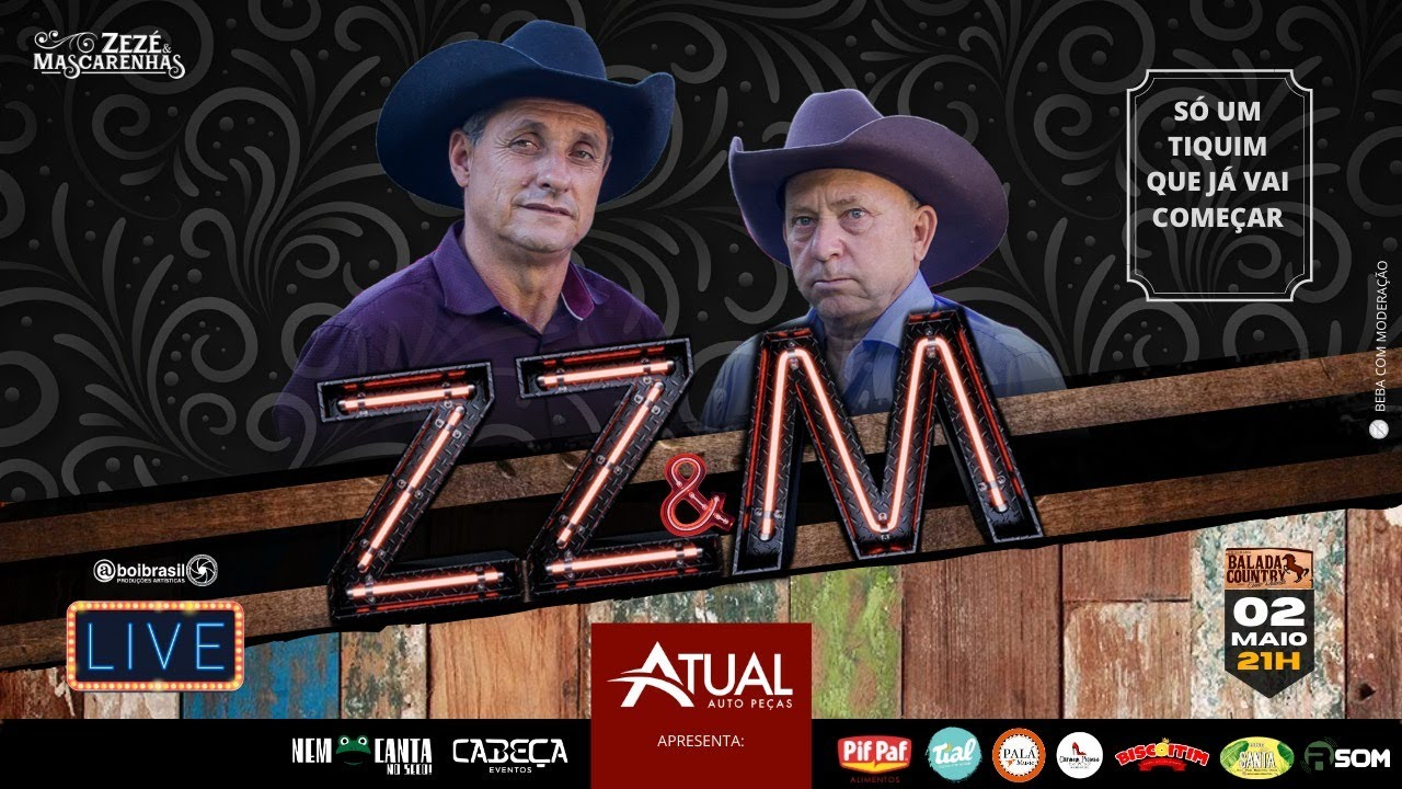 Live só modão 2 - Zezé e Mascarenhas #FiqueEmCasa e cante #comigo