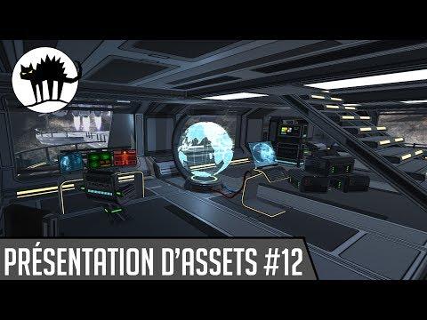 Présentation d'assets #12 : 3D Scifi Kit Vol 2 [Unity3D]