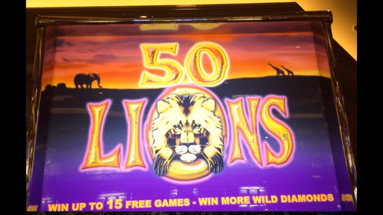 las vegas 50 lions slots