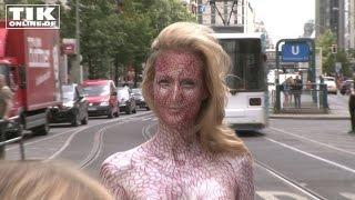 Nackte Kunst: Bodypainting mit
