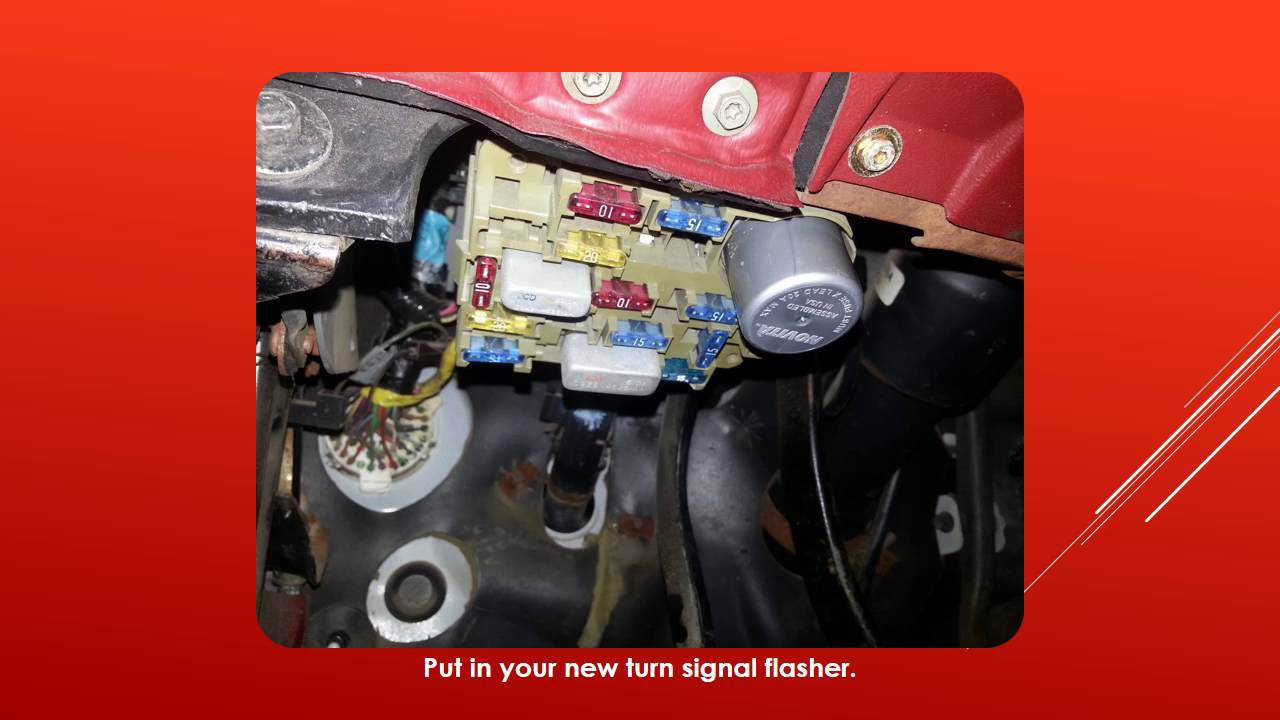 1992 Ford Explorer Wiring Diagram Powerstat Variable Autotransformer Ranger - Turn Signals Won't Flash Easy 7$ Fix. Youtube