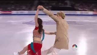 Amazing Ice Skate Dance with Bollywood Song