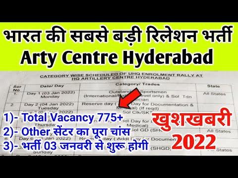 Arty centre hyderabad relation army 2022 | भारत की सबसे बड़ी