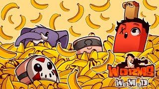 EPIC BANANA BOMB FAIL! | Worms: WMD (w/ H2O Delirious, Squirrel, Rilla, & Ohmwrecker)