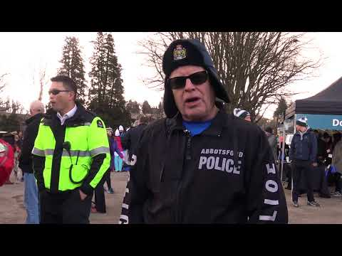 Vancouver Polar Plunge for SOBC: Abbotsford Police Department Chief Bob Rich