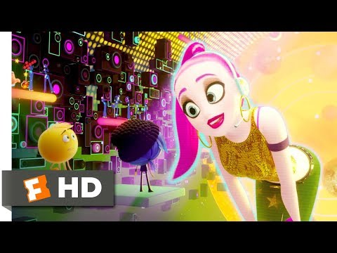 The Emoji Movie (2017) - Just Dance Scene (6/10) | Movieclips
