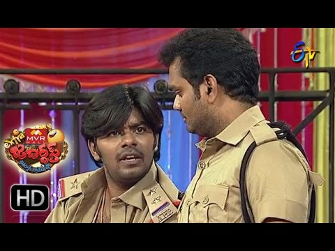 Sudigaali Sudheer Performance   Extra Jabardsth   18th November 2016   ETV Telugu