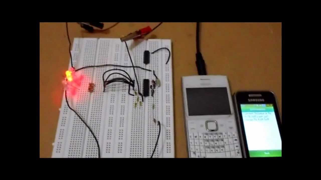 Dtmf Decoder Ic Mt8870 Pin Diagram 94 4l60e Wiring Decoding Code From Mobile Phone Using Youtube