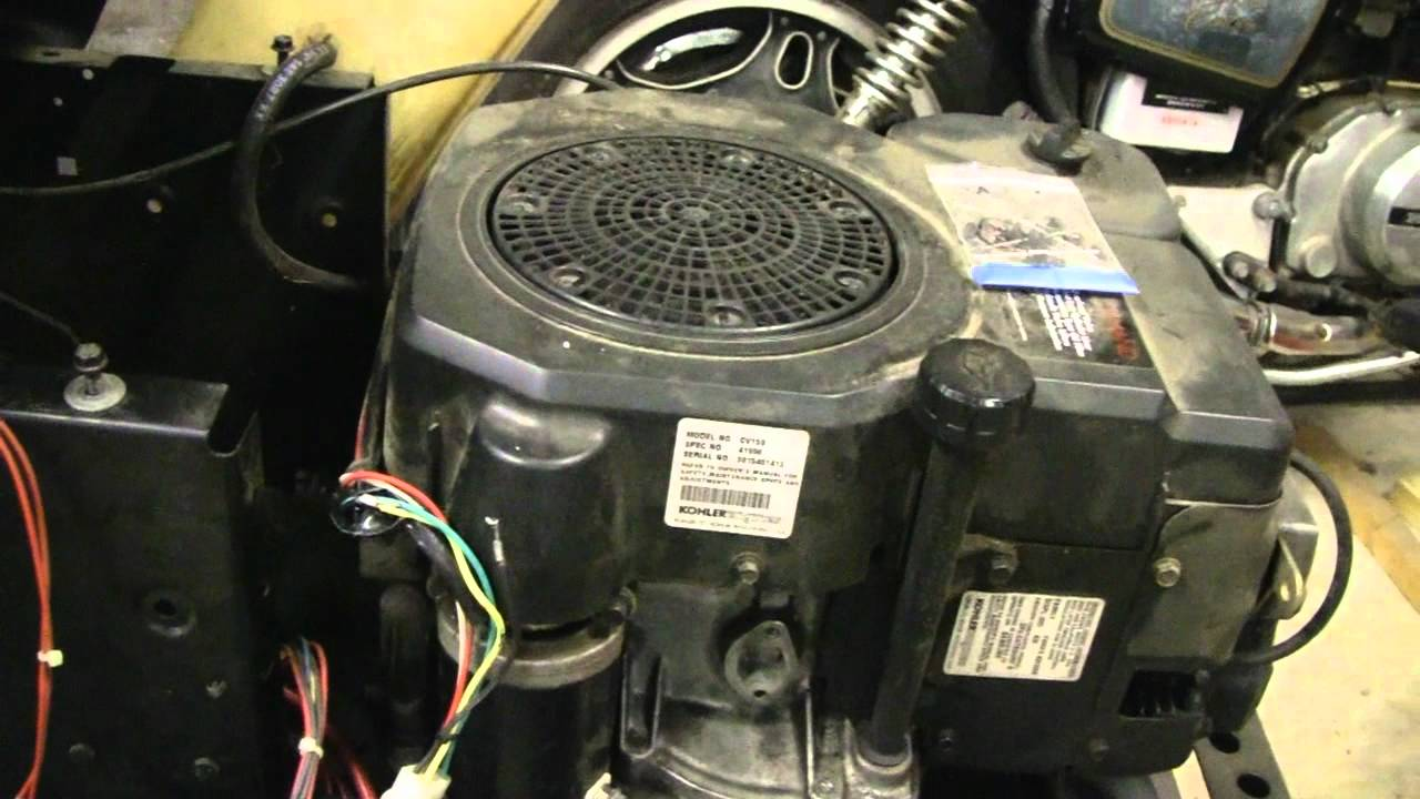 craftsman riding lawn mower ignition switch wiring diagram 36 volt club car motor tractor electrical problem repaired - youtube