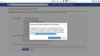 Facebook comment désactiver son compte