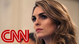 Hope Hicks to cooperate with Dems