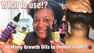 Growth Oils for Natural Hair| What should I use!?| NaturallyLj