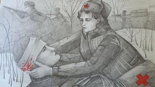 Проект «Читаем о войне» | Юлия Друнина - Бинты
