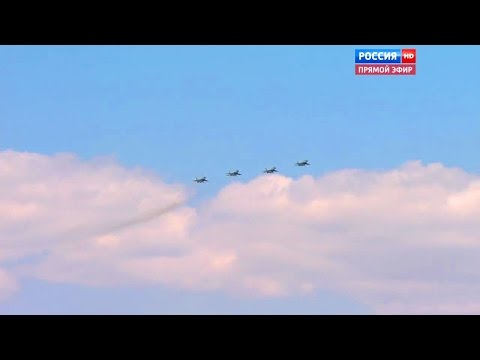 Russia 24 - Victory Day Parade 2016 : Full Air Force Military Assets Segment [720p]