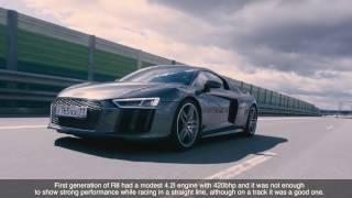 DT Test Drive — Audi R8 V10 Plus vs Lamborghini Huracan LP610-4