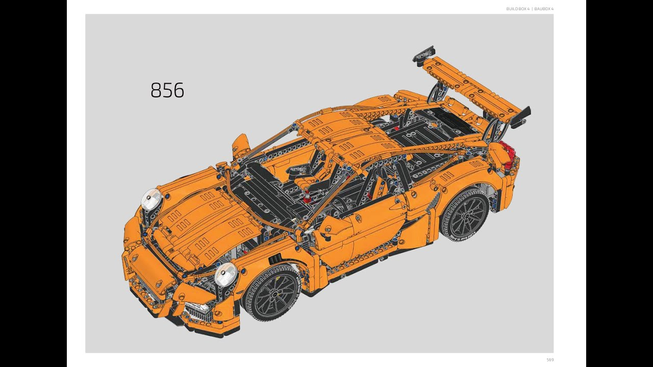 lego 42056 porsche 911 gt3 rs instructions lego technic 2016 youtube. Black Bedroom Furniture Sets. Home Design Ideas