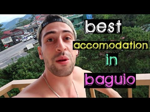 WHERE I'M STAYING IN BAGUIO WITH MAUI BOY !! AMAZING PLACE