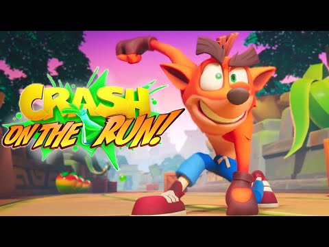 Crash Bandicoot On The Run Reveal Trailer 2020 HD
