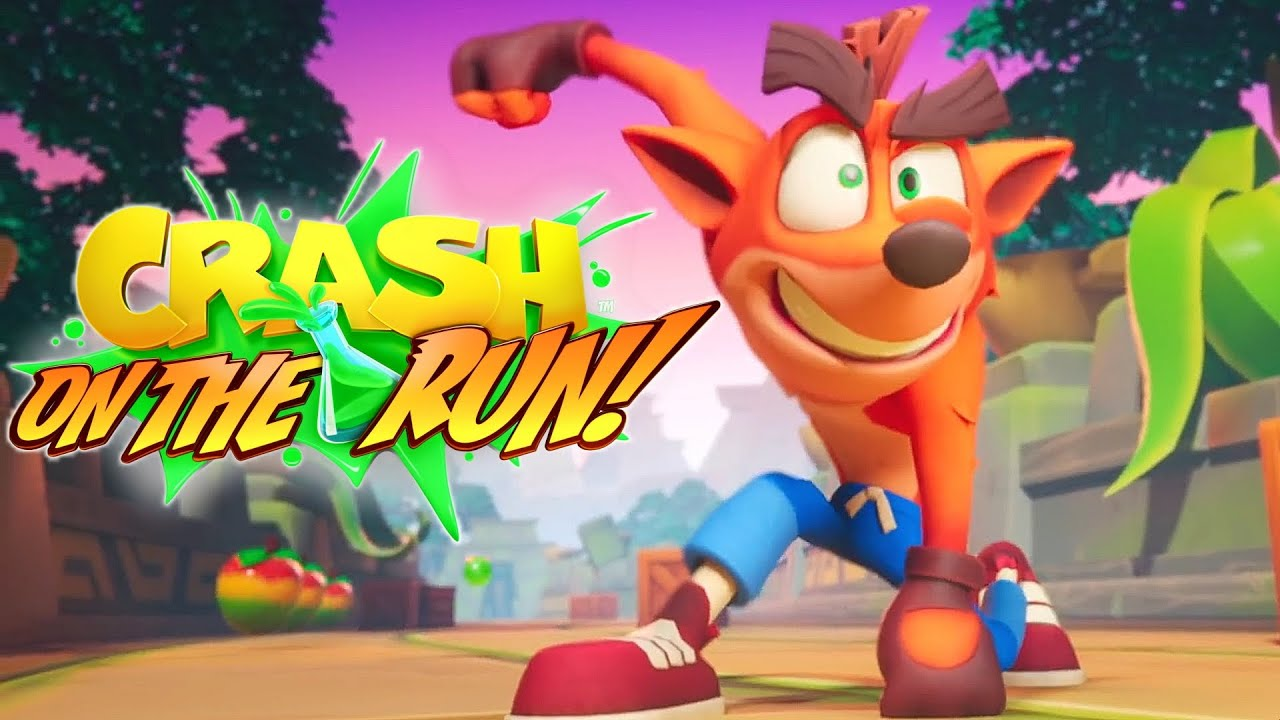 Download Crash Bandicoot On The Run Reveal Trailer 2020 HD