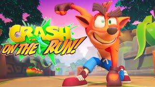 Crash Bandicoot On The Run Reveal Trailer 2020 HD