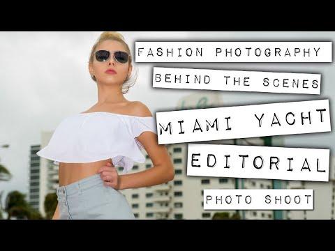 Miami Yacht Show 2018 - Fashion Editorial BTS