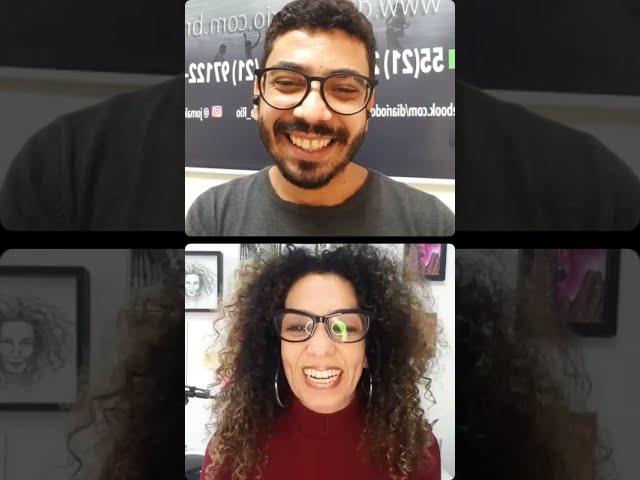 Live com a Multiartista e comunicadora Patrícia Ferrer