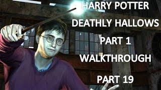 Harry Potter Deathly Hallows Part 1 Walkthrough Part 19: Silver Doe