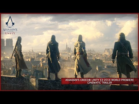 Assassins Creed Unity E3 2014 World Premiere Cinematic Trailer [EUROPE]