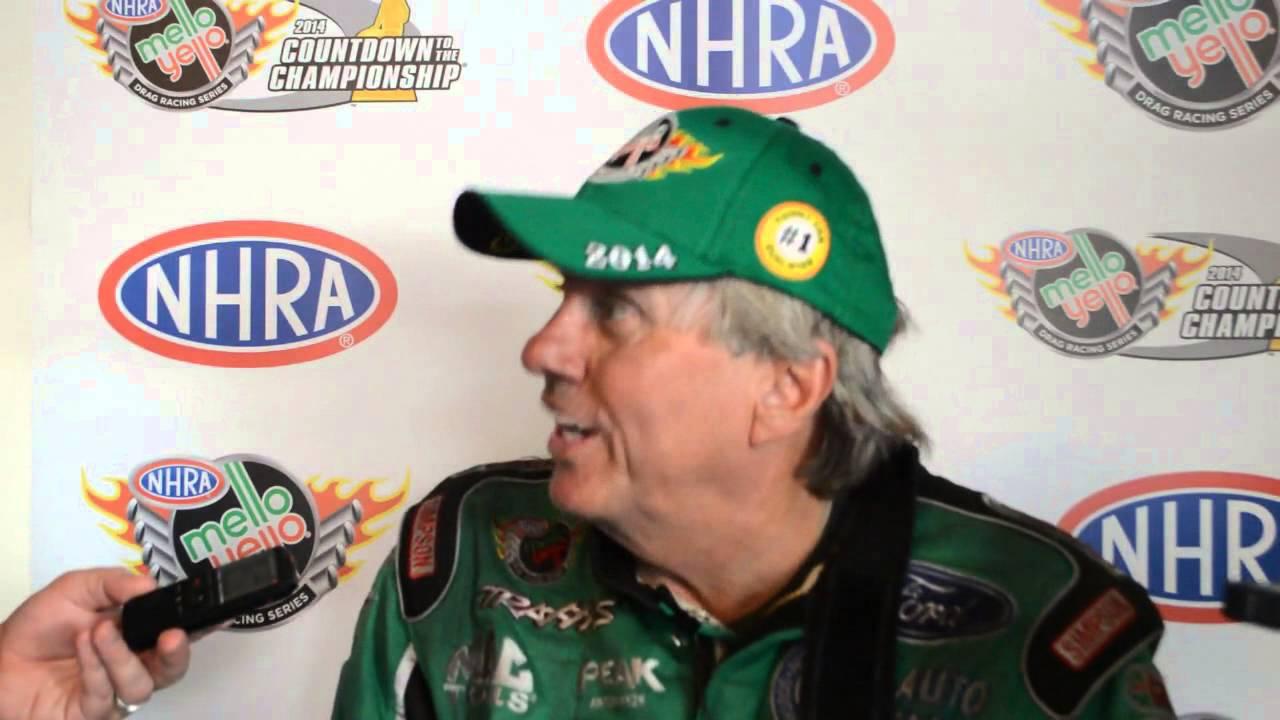 John Force Talks Jimmy Prock Babe Ruth His Fast Race Car Youtube