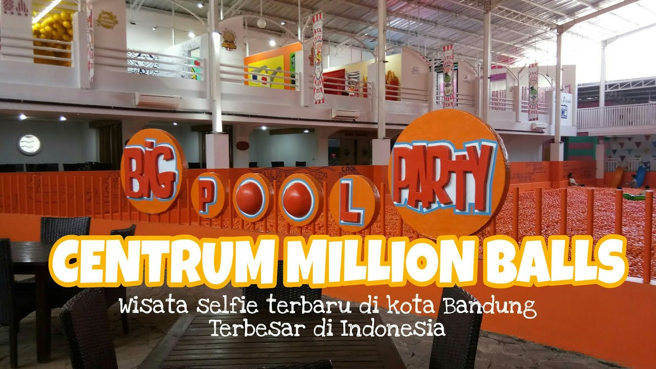 BARU !!! Tempat Wisata Baru Centrum Million Balls di Bandung