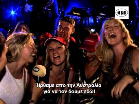 Calvin Harris -  Mad Live in Athens (πλήρης διάρκεια)