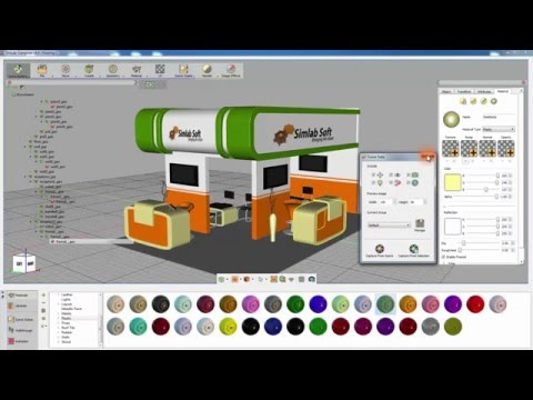 SimLab Composer : The Refined Scene Building Workbench