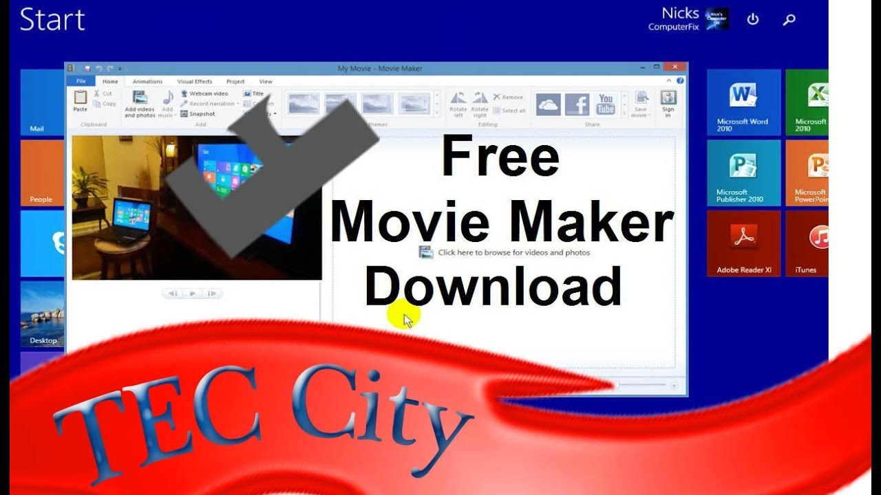 Windows movie maker tutorial for beginners movie maker windows.