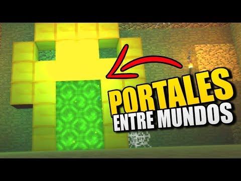 Minecraft Portales A Dimensiones Sin Mods