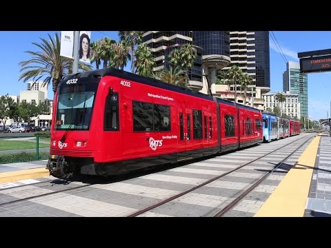 San Diego Trolley (SDMTS) Light Rail / Tram