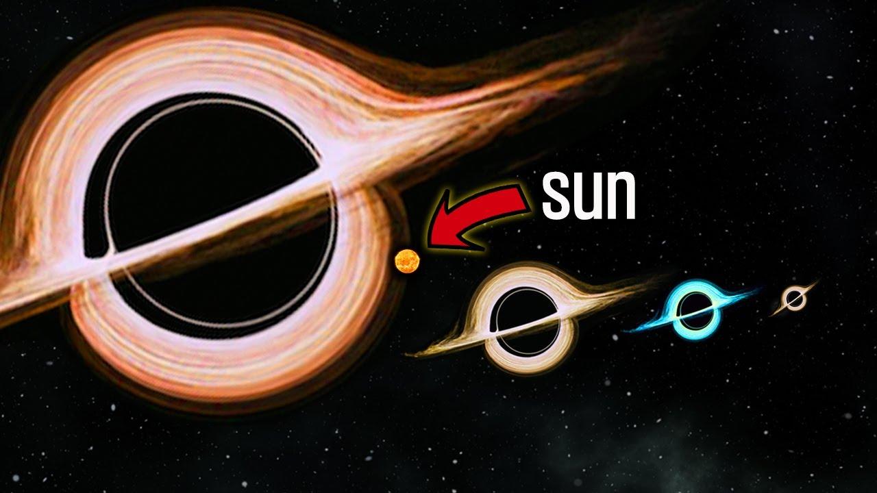 볼수록 무서워지는 블랙홀들의 실제 크기 비교.[오알]