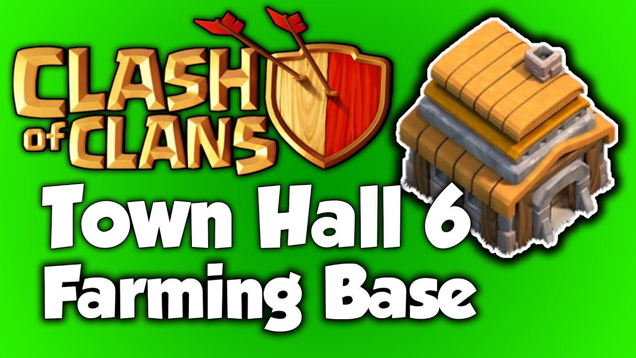Base farming layout th6 by spikerush base farming layout th6 by - Clash Of Clans Best Town Hall 6 Farming Base Th6 Speed Build 2015 Best Th6 Farming Base Layout