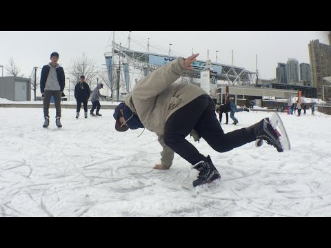 Breaking The Ice - Toronto Freestyle Ice Skating 2016