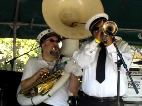 "Treme Brass Band ""Gimme My Money Back!"" LIVE @ Washington Square, New Orleans, 3-21-2017"