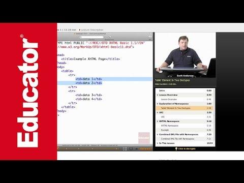 XML: Namespaces