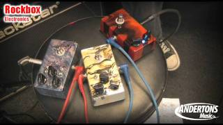 RockBox Baby Blues, Red Dog & Boiling Point Pedals (featuring Pete Callard)