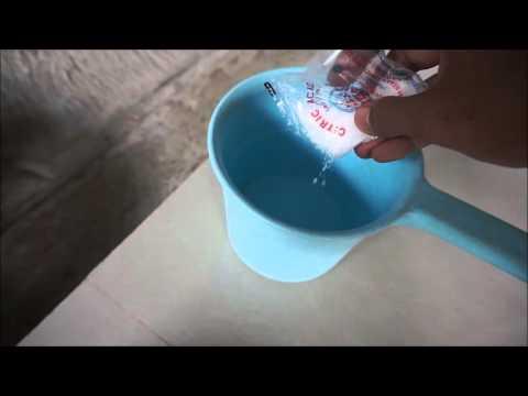 Manfaat Sitrun (Citric Acid) untuk membersihkan pompa/kolam