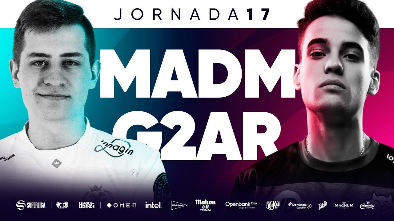 MAD LIONS MADRID VS G2 ARCTIC  - JORNADA 17 - SUPERLIGA - VERANO 2021 - LEAGUE OF LEGENDS