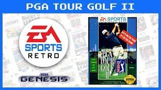 PGA Tour Golf II (Sega Genesis) 1992 | EA Sports Retro | Demo Gameplay
