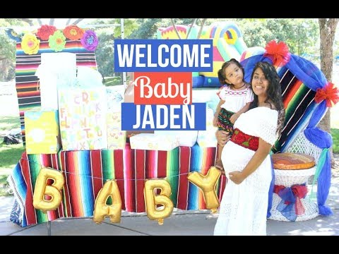 Ideas Baby Shower Mexicano.Fiesta Themed Baby Shower