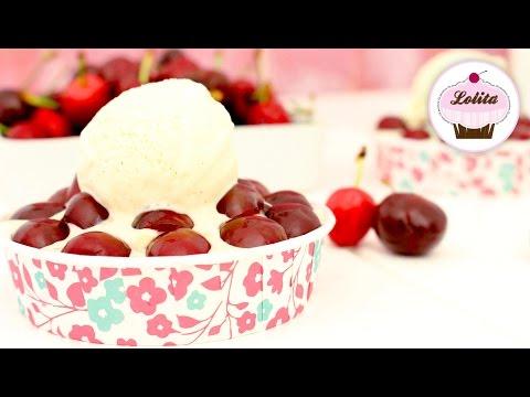 Receta de tartaletas de cerezas y helado de vainilla | Tartaletas caseras fáciles